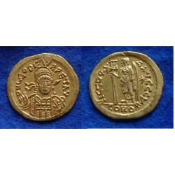 LEO I - SOLIDUS GOLD almost extremely fine! (N1807)
