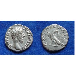 Marcus Aurelius- DIVUS with Eagle! SCARCE (AU1817)
