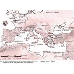 Romeinse muntplaatsen en munttekens